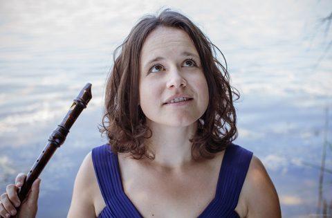 Anne Suse Enßle leitet dieBlockflötenklasse am Tiroler Landeskonservatorium